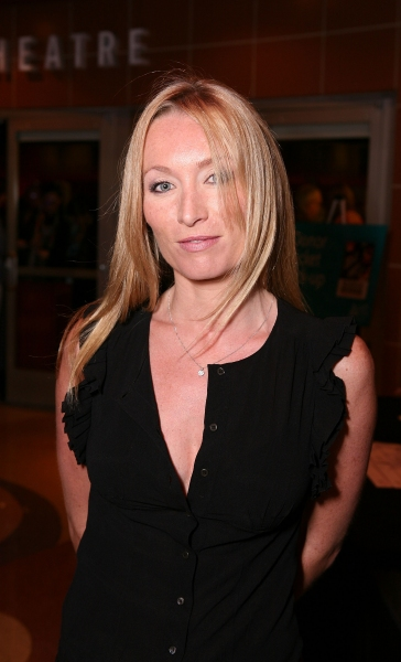 "LOS ANGELES, CA - APRIL 6: Victoria Smurfit poses during the arrivals for the opening night performance of ""The Cripple of Inishmaan"" at Center Theatre Group's Kirk Douglas Theatre on April 6, 2011 in Culver City, California. (Photo by Ryan Miller"