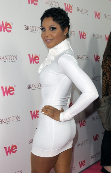 Toni Braxton at the launch party for 'Braxton Family Values'  The London West Hollywood, West Hollywood, CA, USA  April 6, 2011  © RD/ Scott Kirkland/ Retna Digital at WE's 'Braxton Family Values' Launches in LA
