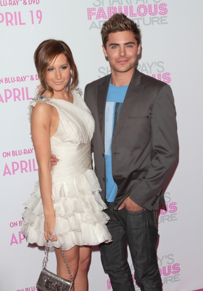 Ashley Tisdale, Zac Efron in attendance; The Sharpay's Fabulous Adventure DVD Release Photo