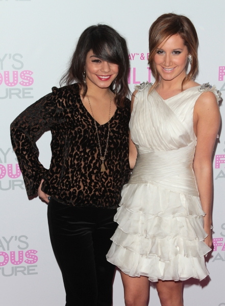 Vanessa Hudgens, Ashley Tisdale in attendance; The Sharpay's Fabulous Adventure DVD Release Party held at the Soho House in West Hollywood, California on April 6th, 2011.  © RD / Orchon / Retna Digital