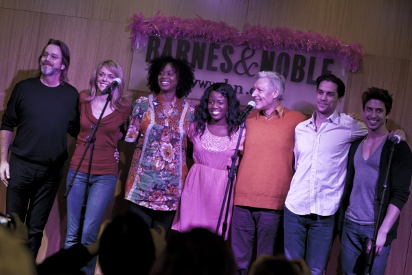 David Johnson, Ashley Spencer, Jacqueline B. Arnold, Anastacia McCeskey, Tony Sheldon, Will Swenson and Nick Adams