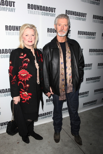Kristina Watson and Stephen Lang attending the Opening Night Performance of The Roundabout Theatre Company's Broadway Production of 'Anything Goes'  in New York City.