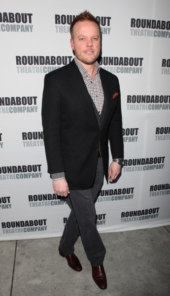 Jason Moore attending the Opening Night Performance of The Roundabout Theatre Company's Broadway Production of 'Anything Goes'  in New York City.