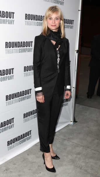 Hannah Yelland attending the Opening Night Performance of The Roundabout Theatre Company's Broadway Production of 'Anything Goes'  in New York City.