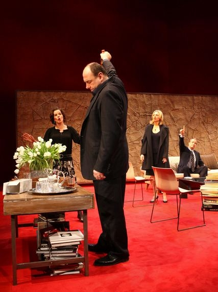 Photo Flash: Gandolfini, Harden, et al. Reprise GOD OF CARNAGE Roles at CTG