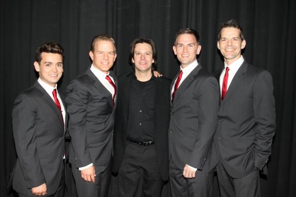Michael Longoria, Christian Hoff, Eric Svejcar, Daniel Reichard and J. Robert Spencer