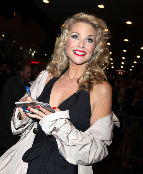 Photo Coverage: Christie Brinkley Greets Fans After Broadway Debut