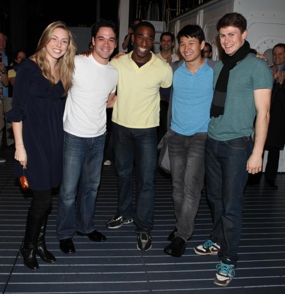Making their Broadway Debut: Kimberly Faure, Andrew Cao, Anthony Wayne, Daniel J. Edw Photo