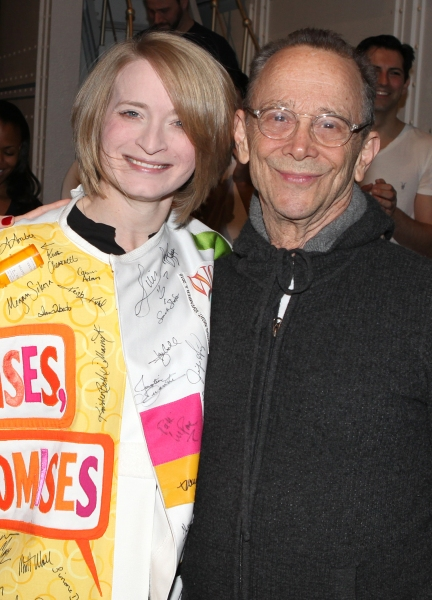 Joyce Chittick & Joel Grey attending the Opening Night Performance Gypsy Robe Ceremony for Recipient Joyce Chittick for The Roundabout Theatre Company's Broadway Production of 'Anything Goes'  in New York City.