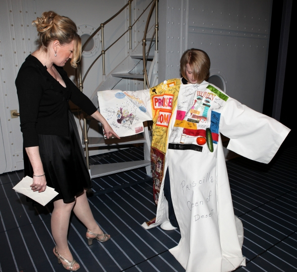 Joyce Chittick & Kathleen Marshall attending the Opening Night Performance Gypsy Robe Ceremony for Recipient Joyce Chittick for The Roundabout Theatre Company's Broadway Production of 'Anything Goes'  in New York City.