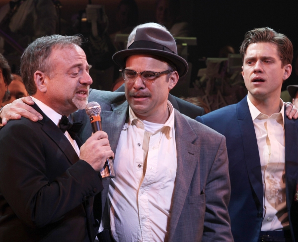 Photo Coverage: CATCH ME IF YOU CAN Opening Night Curtain Call