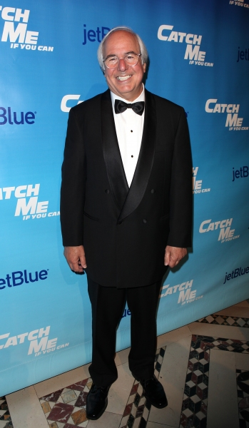 Frank Abagnale Jr. attending the Broadway Opening Night After Party for 'Catch Me If You Can' in New York City.