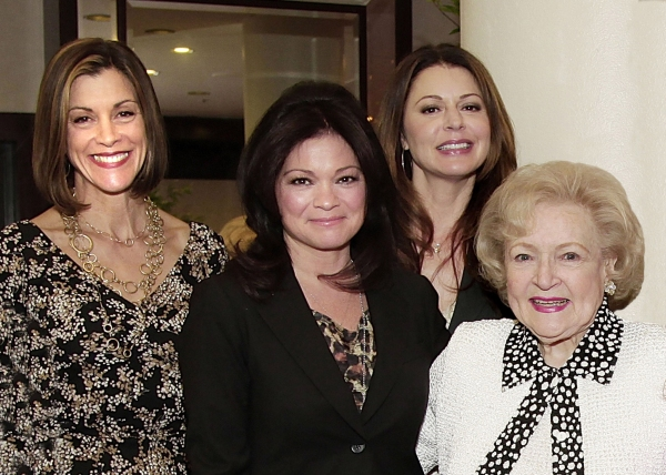 Wendie Malick, Valerie Bertinelli, Jane Leeves and Betty White