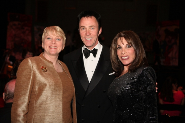 Alison Arngrim, Lance Burton and Kate linder at Academy of Magical Arts Honors Stage Magicians