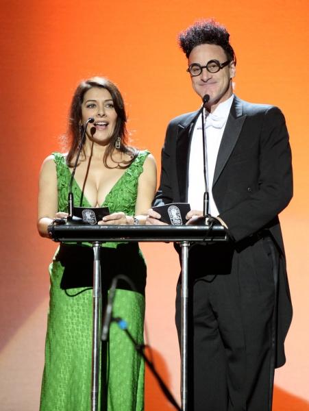 Marina Sirtis and Ed Alonzo