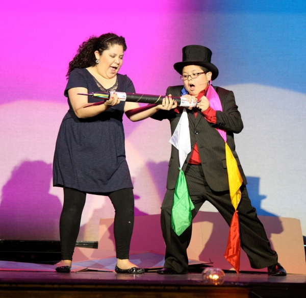 Raini and Rico Rodriguez