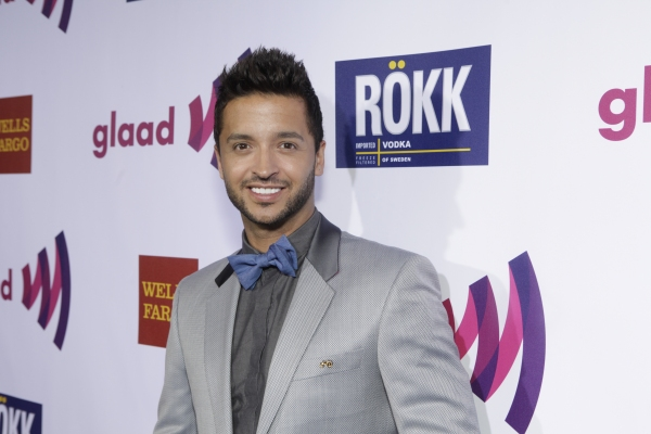 Jai Rodriguez at GLAAD Media Awards Honor Kristin Chenoweth!