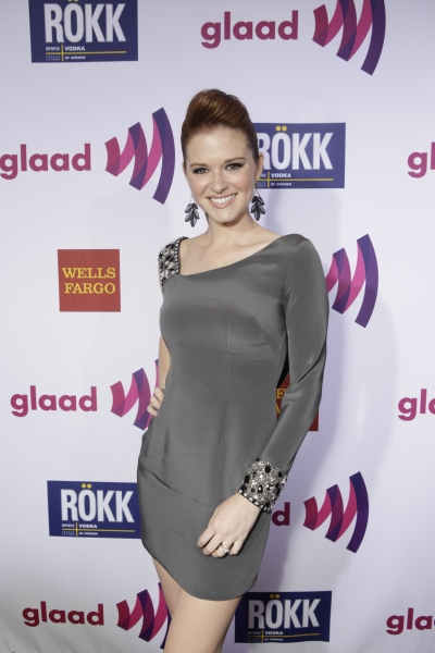 Photo Flash: GLAAD Media Awards Honor Kristin Chenoweth!