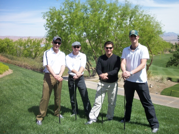 Photos: Jersey Boys Participate in the 'Gift of Hope Golf Tournament' at Lake Las Vegas