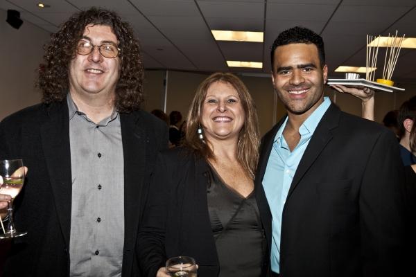 Doug Maxwell, Liz Caplan and Christopher Jackson