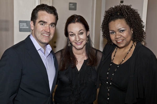 Brian d'Arcy James, Jessica Molaskey and Aisha De Haas