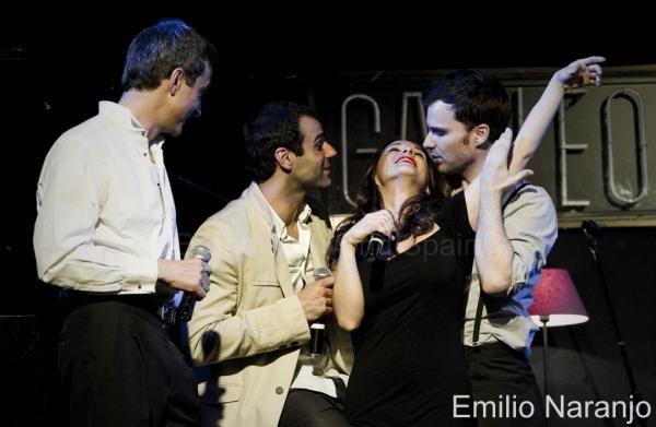 Alberto Vazquez, David Ordinas, Ruth Calvo y Gonzalo Alcain