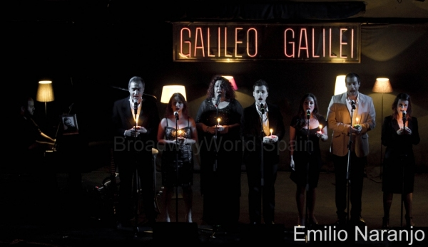 Cesar Belda, Alberto Vazquez, Lourdes Fabres, Eva Diago, Gonzalo Alcain, Ruth Calvo, David Ordinas y Lourdes Zamalloa