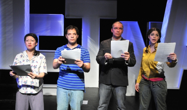 Amy Kim Waschke, Paco Tolson, Jon Hoche, and Bonnie Sherman