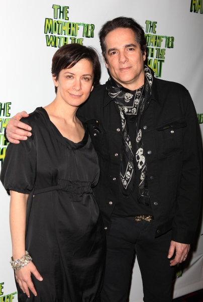 Anna D. Shapiro & Yul Vazquez attending the Broadway Opening Night Performance After Party for 'The Mother F**ker with the Hat'  in New York City.