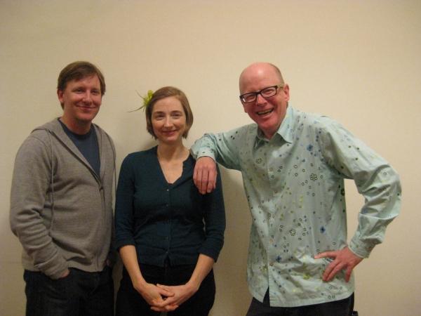 John Langs, Joy Gregory & Gunnar Madsen Photo