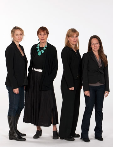 Lois Markle (second from left) will play matriarch Violet Weston, and (from left) Ang Photo