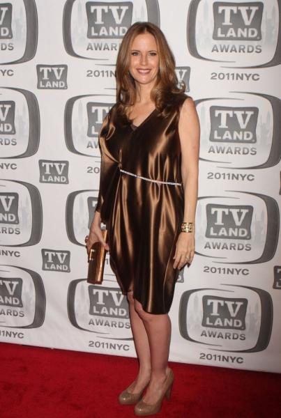 Kelly Preston at Lynch, Travolta & More at '11 TV Land Awards