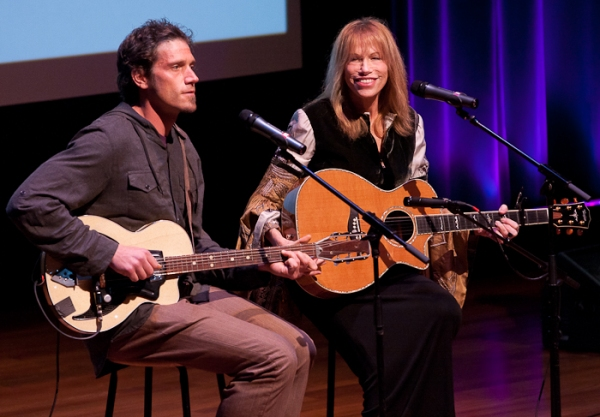 Ben Simon and Carly Simon