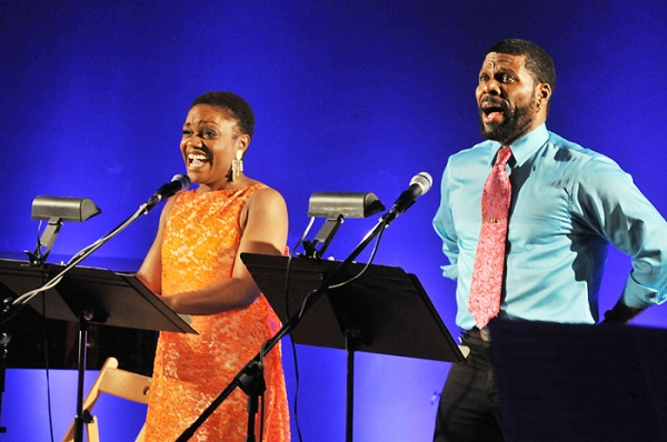 Kenita Miller and Milton Craig Nealy at Ensler & More Celebrate Music-Theatre Group's 40th Anniversary