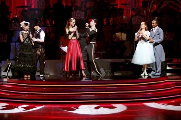 Chelsea Kane, Mark Ballas, Petra Nemcova, Dmitry Chaplin, Sugar Ray Leonard, Anna Tre Photo