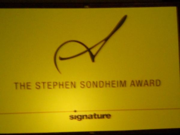 Photo Flash: Signature Theatre Honors Bernadette Peters with Sondheim Award