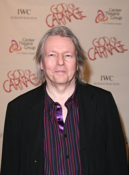 LOS ANGELES, CA - APRIL 13: Translator Christopher Hampton poses during the arrivals for the opening night performance of 'God of Carnage' at Center Theatre Group's Ahmanson Theatre on April 13, 2011 in Los Angeles, California. (Photo by Ryan Miller/Captu at GOD OF CARNAGE Opens at Center Theatre Group with Broadway Cast!