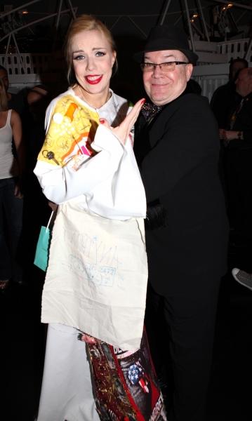 Jennifer Frankel & Jack O'Brien celebrating the Broadway Opening Night Gypsy Robe Cer Photo