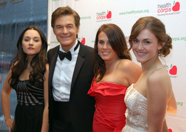 Dr. Oz at Jackman, Vereen, et al. at 'Fresh From the Garden' Gala!
