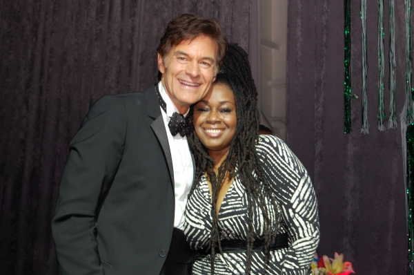 Dr. Oz, Caron Wheeler at Jackman, Vereen, et al. at 'Fresh From the Garden' Gala!