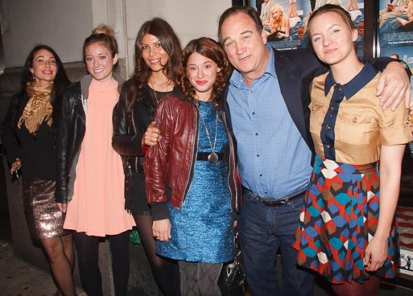 Jim Belushi, Tanya Fischer, and guests