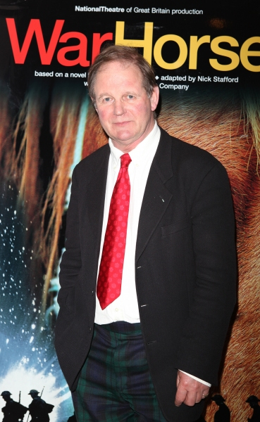 Michael Morpurgo attending the Opening Night After Party for 'War Horse' in New York City. at Opening Night of WAR HORSE on Broadway!