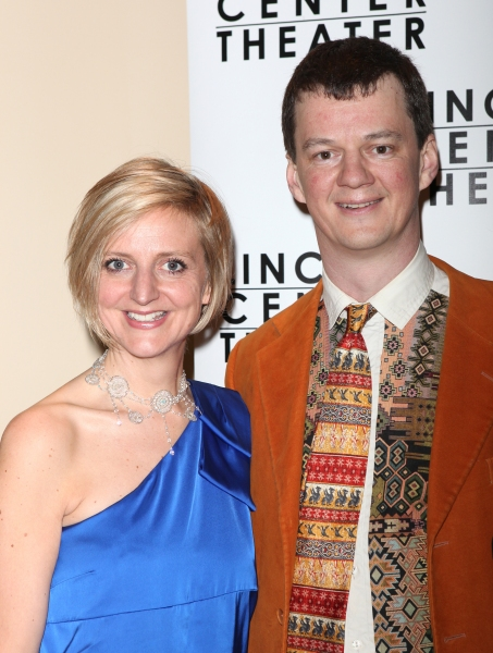 Directors Marianne Elliott & Tom Morris attending the Opening Night After Party for 'War Horse' in New York City.