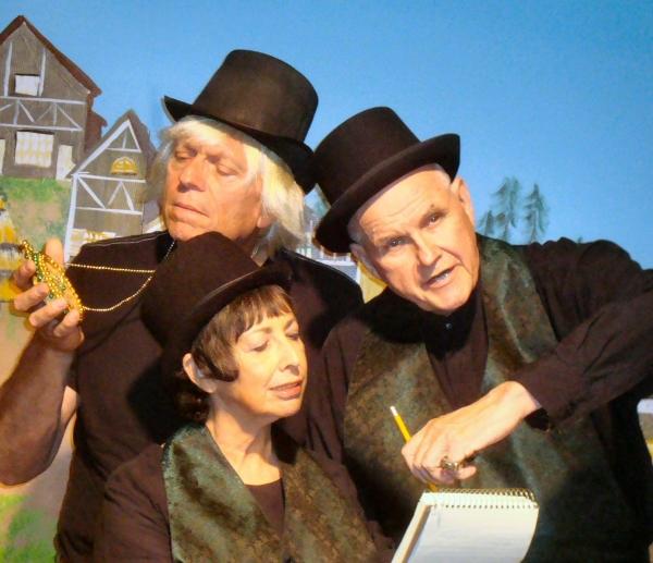 Bill Schnitzer, Laura Bloom Farber, Paul Janes-Brown