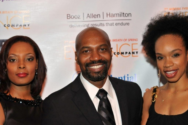 Clarice Young, Ronald K.  Brown, Annique Roberts Photo
