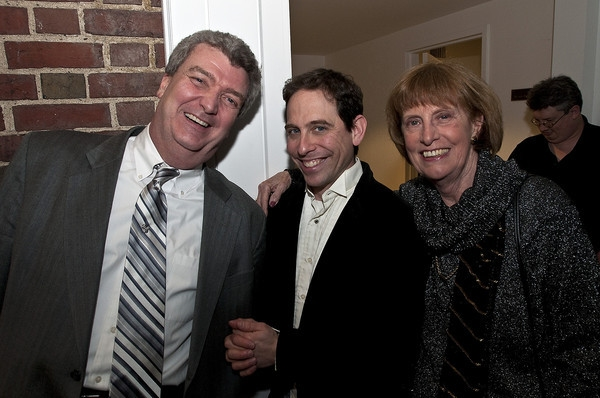Eric Hafen, Garth Kravits & Barbara Staats at Cuccioli Leads Starry Cast at Bickford Theatre Benefit