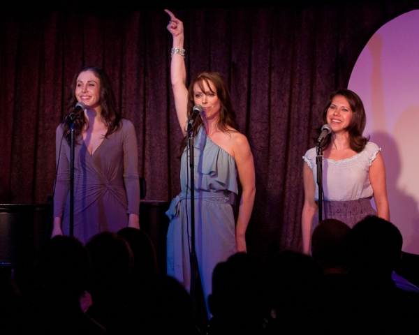 Anna Ty Bergman, Nicole Johndrow, and Danni Marcus at 'Mixtape Confessions' at Don't Tell Mama
