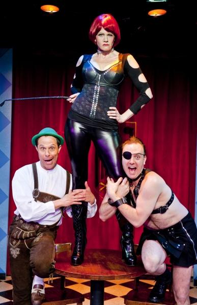 Jordan Leigh, Daniel Langhoff and Sarah Rex Photo