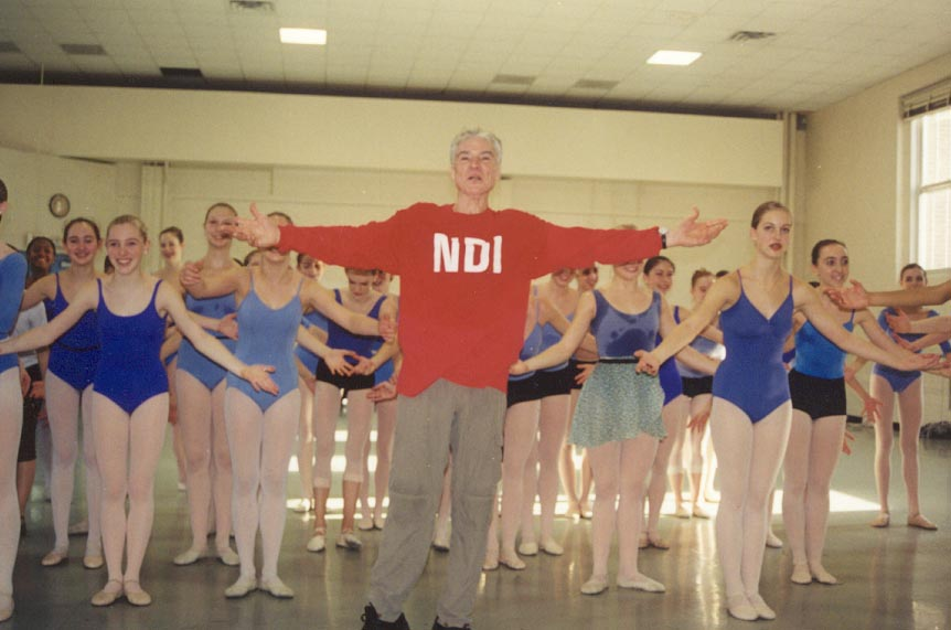 Choreographer Jacques D'amboise to Receive Douglas Watt Lifetime Achievement Award