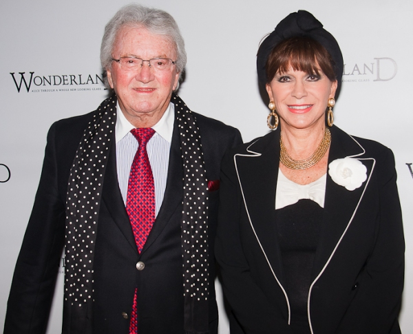 Leslie Bricusse and Yvonne Romain